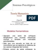 Clase 06 Teoria Humanista. Gestalt