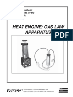 heat engine apparatus manual