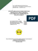 Inventarisasi Dan Dokumentasi Sistem Mata Pencaharian Di Jawa Barat