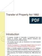 Transfer of Property in India