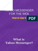 How to Use Yahoo Messenger for the Web