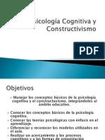 Psicología Cognitiva y Constructivismo 1