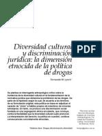 2014 Diversidad Cultural y Discriminación Jurídica - Trama