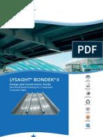 LYSAGHT BONDEK II Design & Constuction Guide
