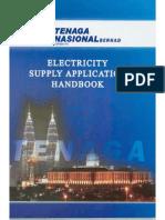 TNB - Electricity Supply Application Handbook