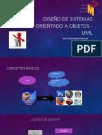 Diseño de Sistemas Orientado a Objetos - UML Semana1