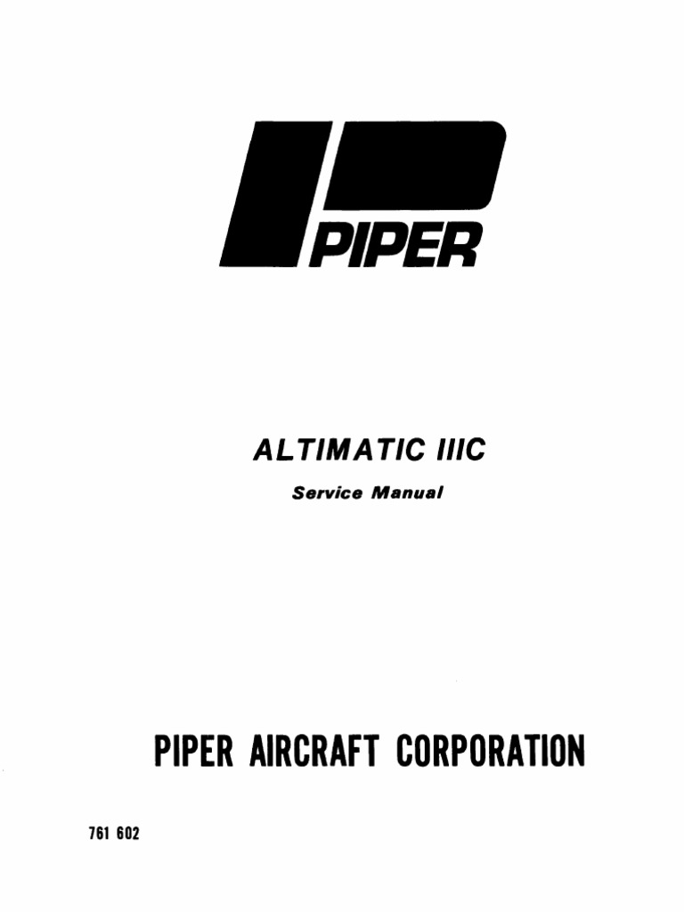 altimatic iiic service manual aircraft flight control system compass rh scribd com Service ManualsOnline Service ManualsOnline