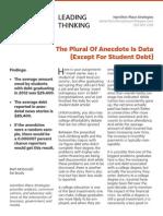 Media Coverage of Student Debt