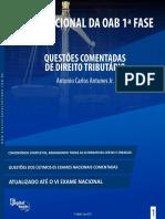 Col Exame Nacional OAB - Quest�es Comentadas de Direito Tribut�rio