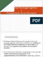 Antecedentes Psicología Cognitiva y Procesamiento de La Información