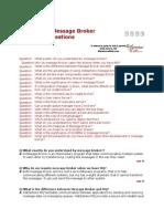 Message Broker Interview Questions