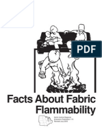 Facts About Fabric Flammability