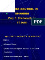 Process Control in Spinning