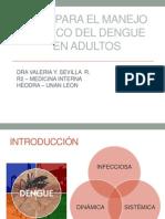 Actualizacion de Dengue