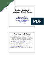 Covalent Bonding And MOT
