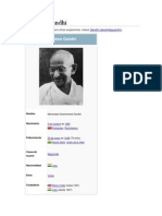Mahatma Gandhi Biografia