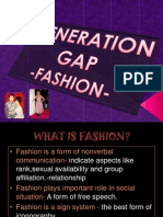 Generation Gap - Fashion