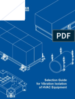 SelecSelection Guide for Vibration Isolation for HVAC Equipmenttion Guide for Vibration Isolation for HVAC Equipment