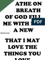 Breathe of God