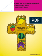 Bahan Kreativitas Sekolah Minggu 21 September 2014 PIA Kumetiran