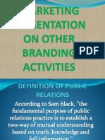 other branding activities