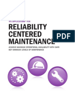 Brochure Relability Centered Maintenance RCM