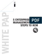 White Paper 5 EAM Steps to RCM