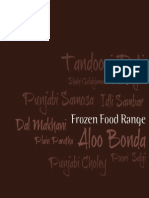 Frozen Food Catalogue