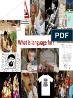 What Do We Use Language For