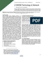 An Overview of Dwdm Technology & Network
