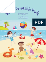 Beach Printable Pack