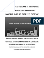 Air Coolers Manual Romanian Version
