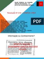 RESOLUÇÃO 218
