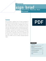 EDR DesignBriefs Processheatrecov