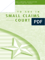 How to Sue in Small Claims Court
