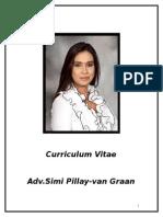 Adv. Simi Pillay-van Graan CV