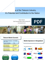 Overview of Telecom Industry-Bangladesh