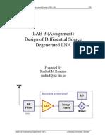 LAB3 Design of Differential LNA