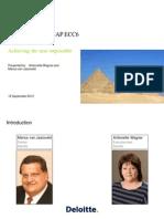 SAP MiningMetals Forum 2012 A6 Deloitte Exxaro