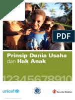 Prinsip Dunia Usaha Dan Hak Anak