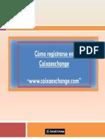 Pasos Registrar Empresa Caixaechange
