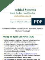 Ch13 ADC, DAC and Sensor Interfacing