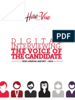 Digital Interviewing-The Voice of the Candidate