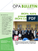 EROPA Bulletin - January-June 2014