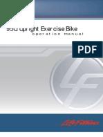 95Ci Upright Exercise Bike