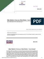 IBS Case Studies