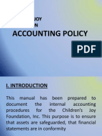Accounting Policy Powerpoint Presentation