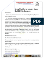 Training Module_Industry Users