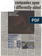 MindTree Foundation News - Deccan Chronicle 03 Dec 2009
