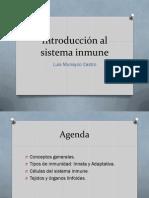 Inmunologia - Clase 01 - Introduccion Al Sistema Inmune (1)